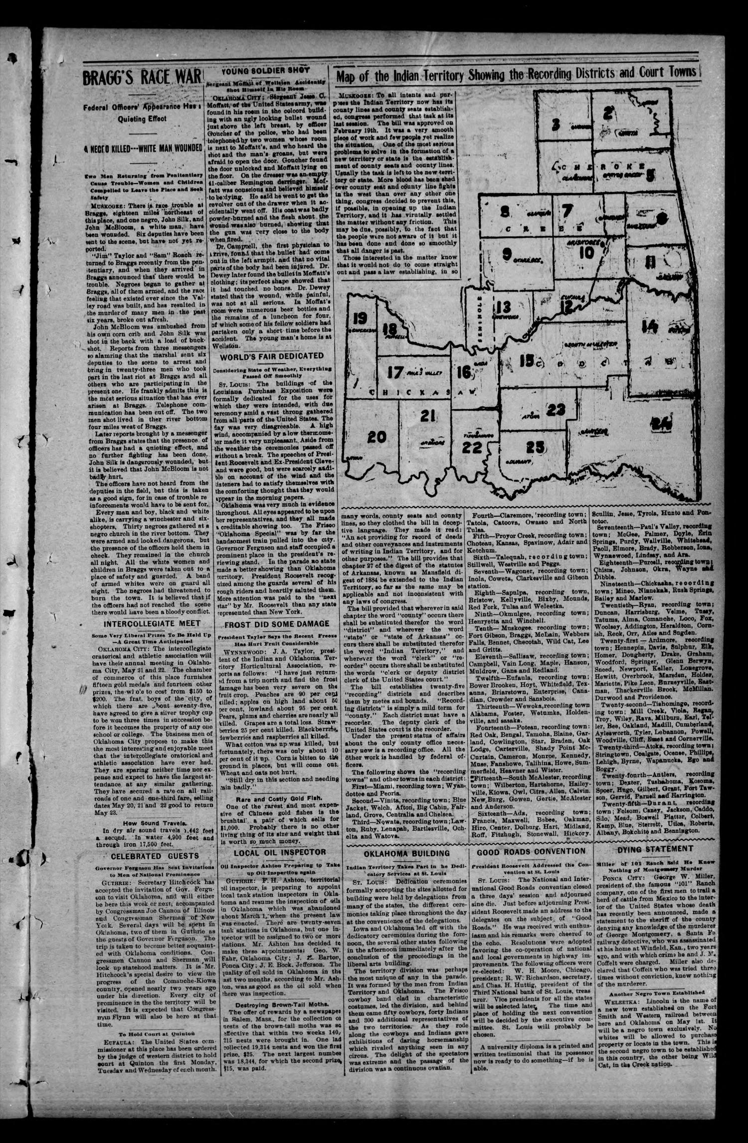 Geary Bulletin. (Geary, Okla.), Vol. 4, No. 46, Ed. 1 Thursday, May 7, 1903                                                                                                      [Sequence #]: 3 of 16