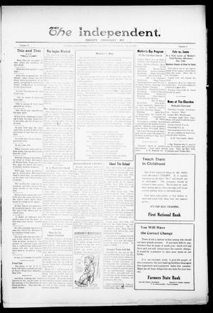 Primary view of object titled 'The Independent. (Cashion, Okla.), Vol. 15, No. 1, Ed. 1 Thursday, May 11, 1922'.