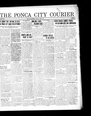 Primary view of object titled 'The Ponca City Courier (Ponca City, Okla.), Vol. 29, No. 12, Ed. 1 Thursday, April 21, 1921'.
