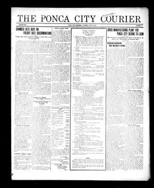Primary view of object titled 'The Ponca City Courier (Ponca City, Okla.), Vol. 29, No. 16, Ed. 1 Thursday, May 19, 1921'.