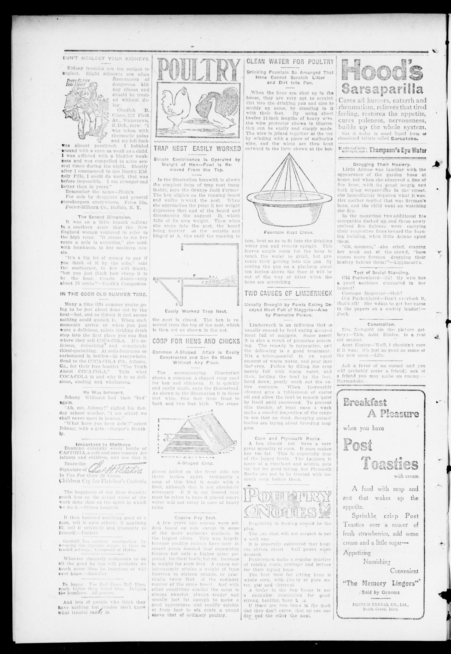 The Independent. (Cashion, Okla.), Vol. 4, No. 8, Ed. 1 Thursday, June 29, 1911                                                                                                      [Sequence #]: 6 of 10