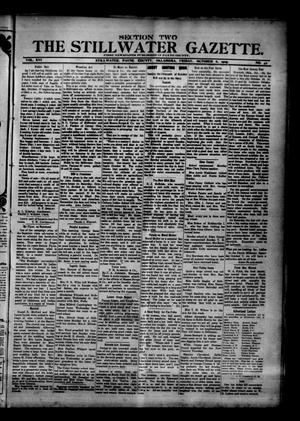 Primary view of object titled 'The Stillwater Gazette. (Stillwater, Okla.), Vol. 16, No. 42, Ed. 1 Friday, October 6, 1905'.