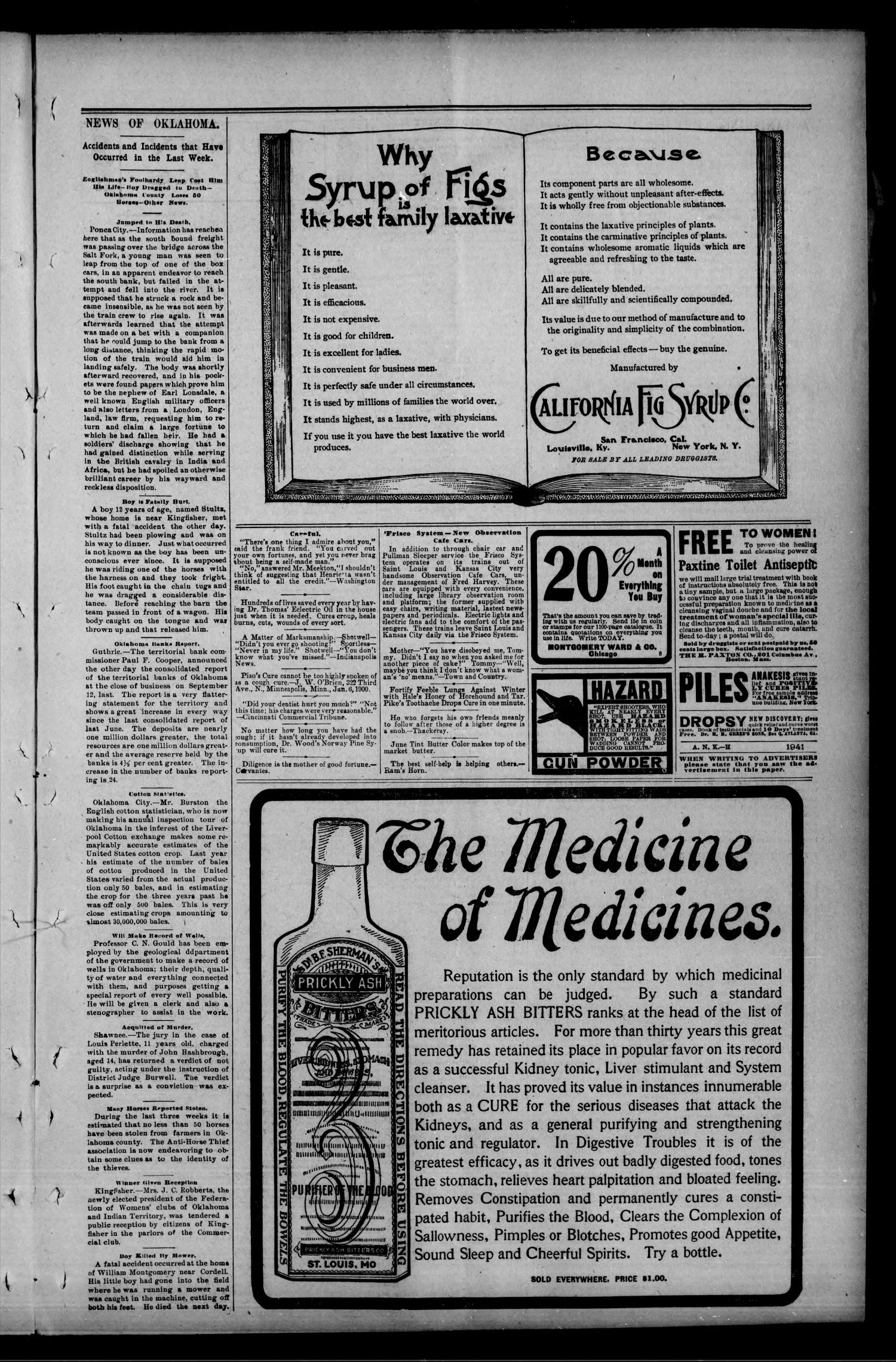 Geary Bulletin. (Geary, Okla.), Vol. 4, No. 19, Ed. 1 Thursday, October 30, 1902                                                                                                      [Sequence #]: 7 of 12