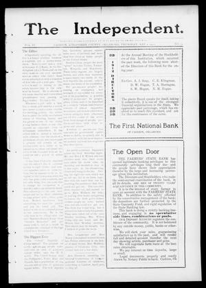 Primary view of object titled 'The Independent. (Cashion, Okla.), Vol. 4, No. 52, Ed. 1 Thursday, May 2, 1912'.