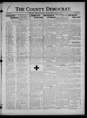 Primary view of object titled 'The County Democrat. (Tecumseh, Okla.), Vol. 24, No. 21, Ed. 1 Friday, February 8, 1918'.