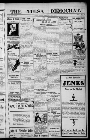 Primary view of object titled 'The Tulsa Democrat. (Tulsa, Indian Terr.), Vol. 6, No. 22, Ed. 1 Friday, May 26, 1905'.