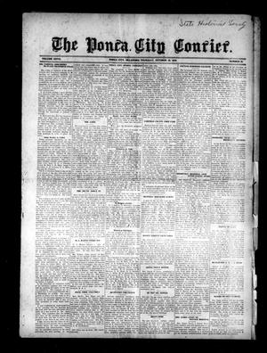 Primary view of object titled 'The Ponca City Courier. (Ponca City, Okla.), Vol. 27, No. 38, Ed. 1 Thursday, October 16, 1919'.