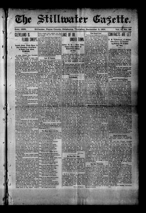 Primary view of object titled 'The Stillwater Gazette. (Stillwater, Okla.), Vol. 12, No. 37, Ed. 1 Thursday, September 5, 1901'.