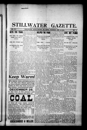 Primary view of object titled 'Stillwater Gazette. (Stillwater, Okla.), Vol. 16, No. 2, Ed. 1 Thursday, December 29, 1904'.