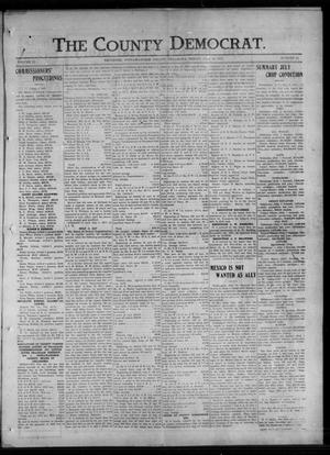 Primary view of object titled 'The County Democrat. (Tecumseh, Okla.), Vol. 23, No. 43, Ed. 1 Friday, July 13, 1917'.