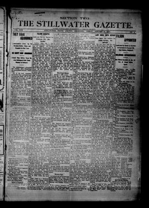 Primary view of object titled 'The Stillwater Gazette. (Stillwater, Okla.), Vol. 17, No. 3, Ed. 1 Friday, January 5, 1906'.