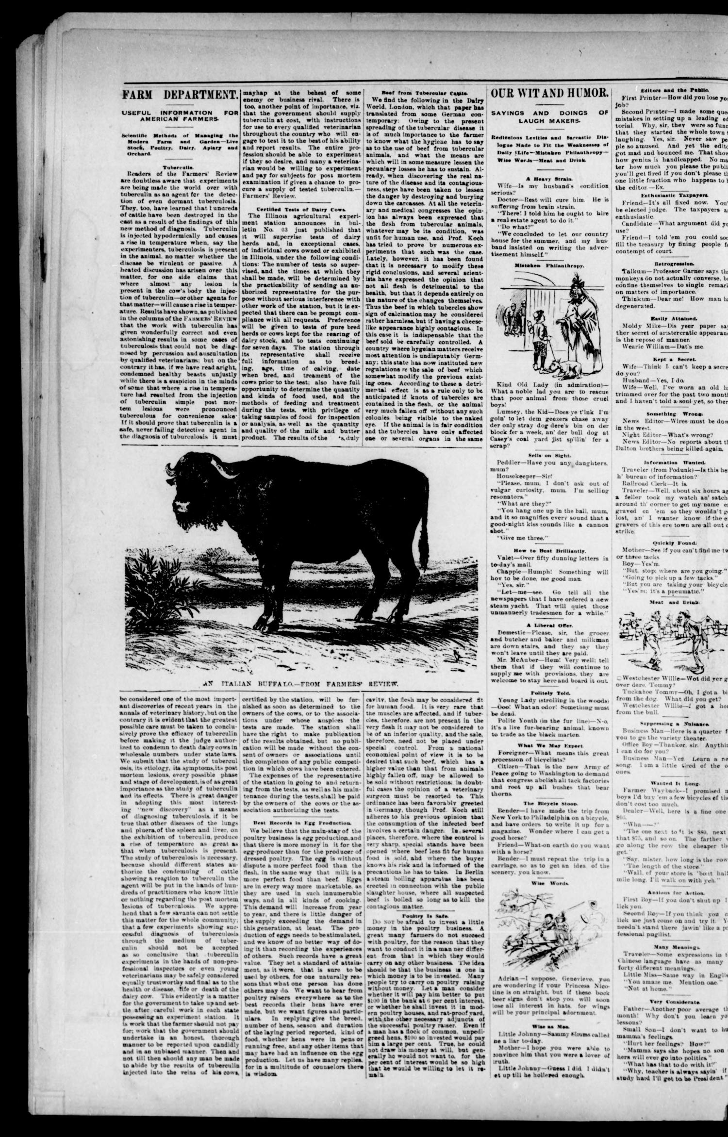 Blackwell Lion. (Blackwell, Okla. Terr.), Vol. 1, No. 9, Ed. 1 Thursday, July 19, 1894                                                                                                      [Sequence #]: 2 of 8