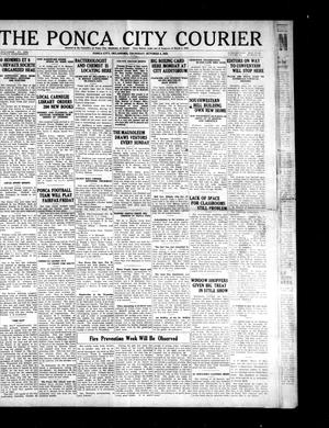Primary view of object titled 'The Ponca City Courier (Ponca City, Okla.), Vol. 11, No. 50, Ed. 1 Thursday, October 4, 1923'.