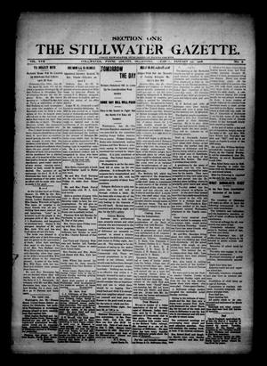 Primary view of object titled 'The Stillwater Gazette. (Stillwater, Okla.), Vol. 17, No. 6, Ed. 1 Tuesday, January 23, 1906'.