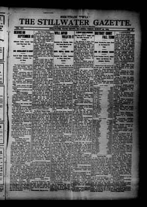 Primary view of object titled 'The Stillwater Gazette. (Stillwater, Okla.), Vol. 16, No. 36, Ed. 1 Friday, August 25, 1905'.