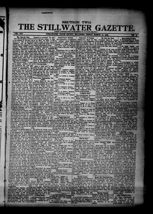 Primary view of object titled 'The Stillwater Gazette. (Stillwater, Okla.), Vol. 16, No. 16, Ed. 1 Friday, March 31, 1905'.
