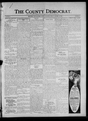 Primary view of object titled 'The County Democrat. (Tecumseh, Okla.), Vol. 25, No. 18, Ed. 1 Friday, January 31, 1919'.