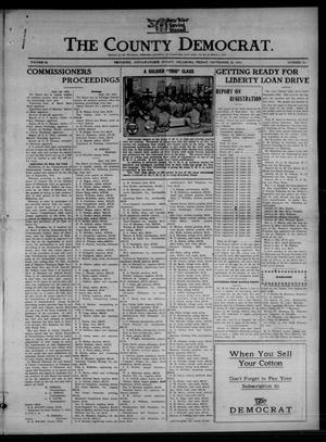 Primary view of object titled 'The County Democrat. (Tecumseh, Okla.), Vol. 24, No. 52, Ed. 1 Friday, September 20, 1918'.