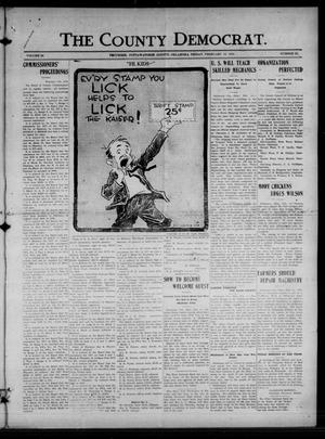 Primary view of object titled 'The County Democrat. (Tecumseh, Okla.), Vol. 24, No. 22, Ed. 1 Friday, February 15, 1918'.