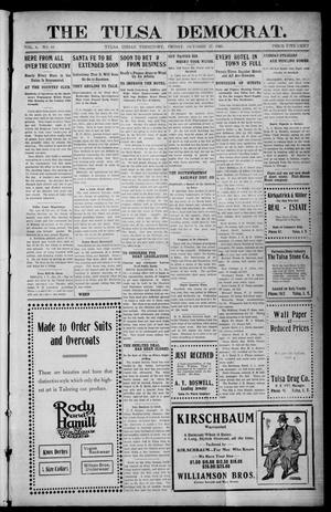 Primary view of object titled 'The Tulsa Democrat. (Tulsa, Indian Terr.), Vol. 6, No. 44, Ed. 1 Friday, October 27, 1905'.