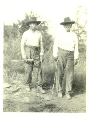 Primary view of Albert Burgess and Toby Berryhill