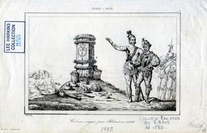 Primary view of object titled 'Column Erected by Ribaut in 1562'.