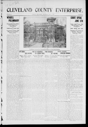 Cleveland County Enterprise. (Norman, Okla.), Vol. 19, No. 47, Ed. 1 Thursday, May 25, 1911