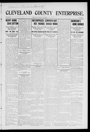 Cleveland County Enterprise. (Norman, Okla.), Vol. 20, No. 2, Ed. 1 Thursday, July 13, 1911