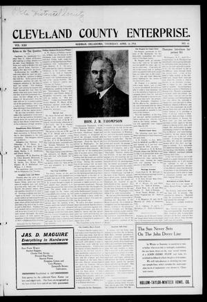 Cleveland County Enterprise. (Norman, Okla.), Vol. 22, No. 41, Ed. 1 Thursday, April 16, 1914
