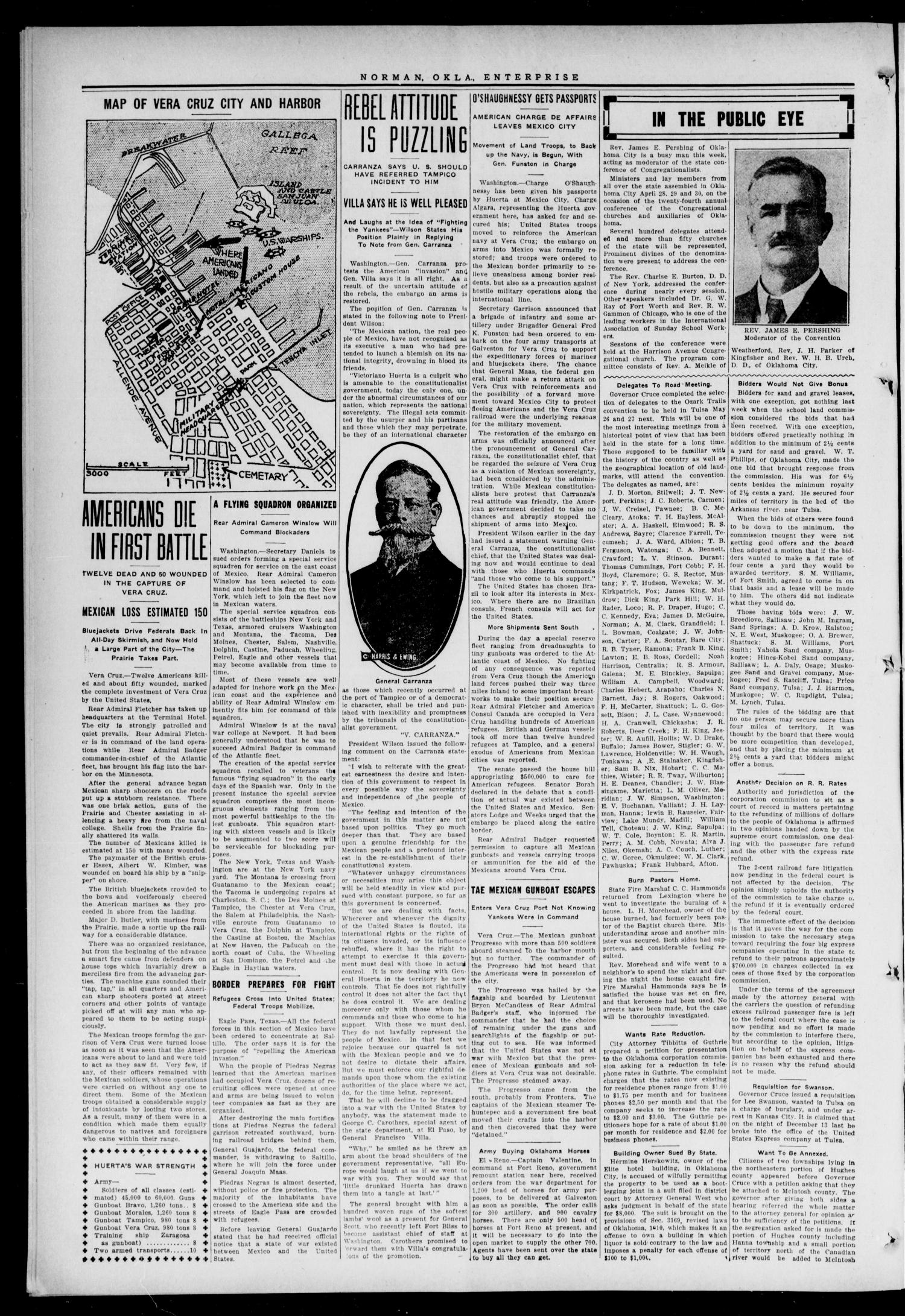 Cleveland County Enterprise. (Norman, Okla.), Vol. 22, No. 43, Ed. 1 Thursday, April 30, 1914                                                                                                      [Sequence #]: 2 of 8