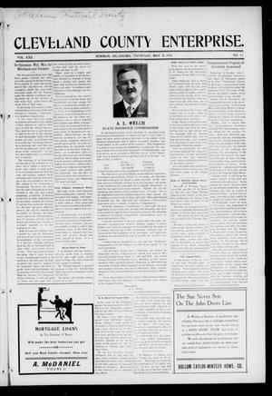 Cleveland County Enterprise. (Norman, Okla.), Vol. 22, No. 47, Ed. 1 Thursday, May 28, 1914