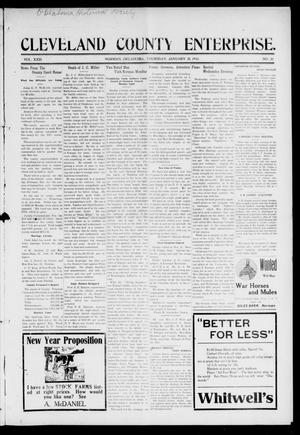 Cleveland County Enterprise. (Norman, Okla.), Vol. 23, No. 30, Ed. 1 Thursday, January 28, 1915
