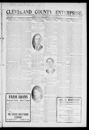 Primary view of Cleveland County Enterprise. (Norman, Okla.), Vol. 24, No. 21, Ed. 1 Thursday, November 25, 1915