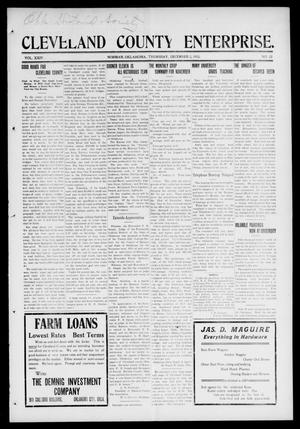 Cleveland County Enterprise. (Norman, Okla.), Vol. 24, No. 22, Ed. 1 Thursday, December 2, 1915