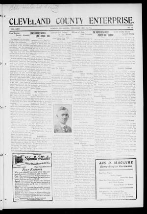 Cleveland County Enterprise. (Norman, Okla.), Vol. 24, No. 46, Ed. 1 Thursday, May 18, 1916