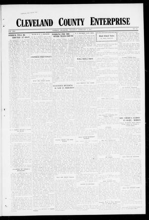 Primary view of object titled 'Cleveland County Enterprise (Norman, Okla.), Vol. 25, No. 32, Ed. 1 Thursday, February 8, 1917'.