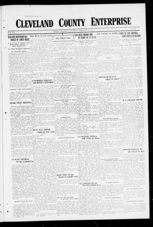 Primary view of object titled 'Cleveland County Enterprise (Norman, Okla.), Vol. 25, No. 34, Ed. 1 Thursday, February 22, 1917'.