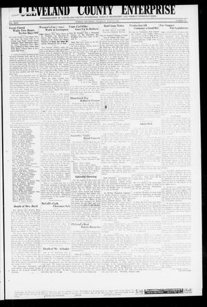Primary view of object titled 'Cleveland County Enterprise (Norman, Okla.), Vol. 26, No. 52, Ed. 1 Wednesday, June 27, 1917'.