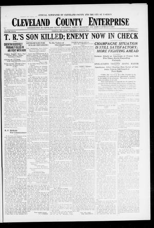 Primary view of Cleveland County Enterprise (Norman, Okla.), Vol. 27, No. 3, Ed. 1 Wednesday, July 18, 1917