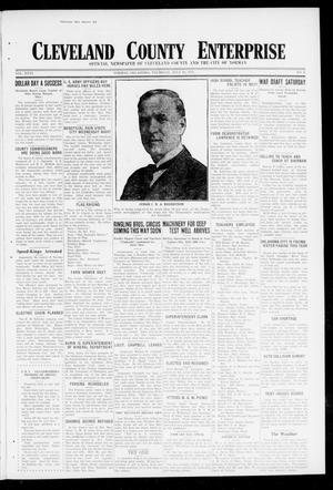 Cleveland County Enterprise (Norman, Okla.), Vol. 26, No. 3, Ed. 1 Thursday, July 19, 1917