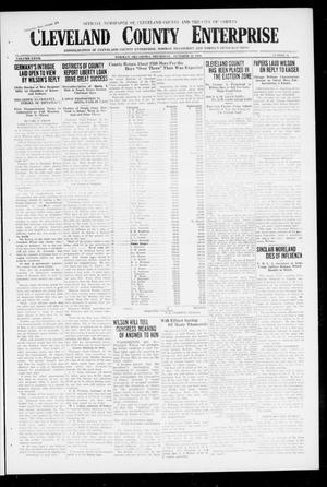 Cleveland County Enterprise (Norman, Okla.), Vol. 27, No. 15, Ed. 1 Wednesday, October 10, 1917