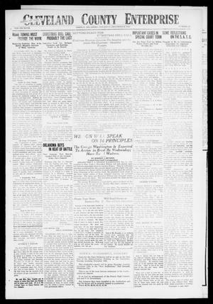 Cleveland County Enterprise (Norman, Okla.), Vol. 27, No. 23, Ed. 1 Wednesday, December 5, 1917