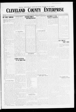 Primary view of object titled 'Cleveland County Enterprise (Norman, Okla.), Vol. 26, No. 26, Ed. 1 Thursday, December 27, 1917'.