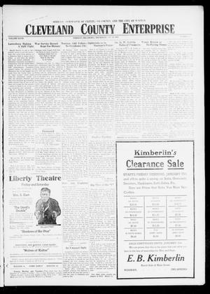 Cleveland County Enterprise (Norman, Okla.), Vol. 27, No. 29, Ed. 1 Wednesday, January 16, 1918