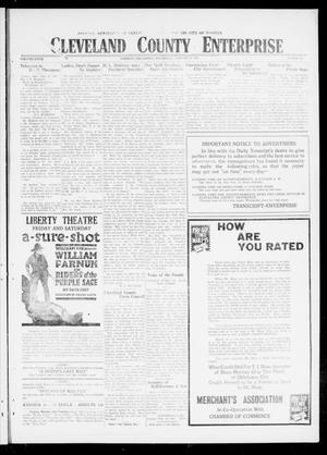 Cleveland County Enterprise (Norman, Okla.), Vol. 27, No. 35, Ed. 1 Wednesday, February 27, 1918