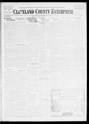 Primary view of object titled 'Cleveland County Enterprise (Norman, Okla.), Vol. 27, No. 47, Ed. 1 Wednesday, May 22, 1918'.