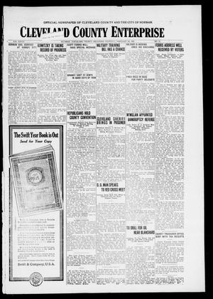 Cleveland County Enterprise (Norman, Okla.), Vol. 27, No. 32, Ed. 1 Thursday, February 5, 1920