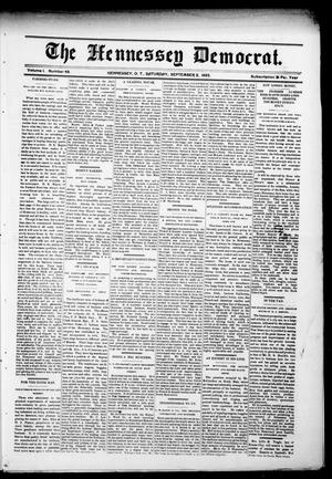 The Hennessey Democrat. (Hennessey, Okla. Terr.), Vol. 1, No. 49, Ed. 2 Saturday, September 2, 1893