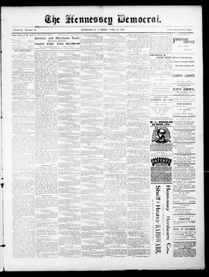 The Hennessey Democrat. (Hennessey, Okla. Terr.), Vol. 2, No. 21, Ed. 1 Friday, April 27, 1894