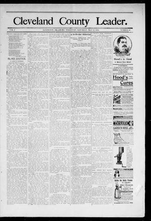 Cleveland County Leader. (Lexington, Okla.), Vol. 2, No. 19, Ed. 1 Saturday, May 12, 1894